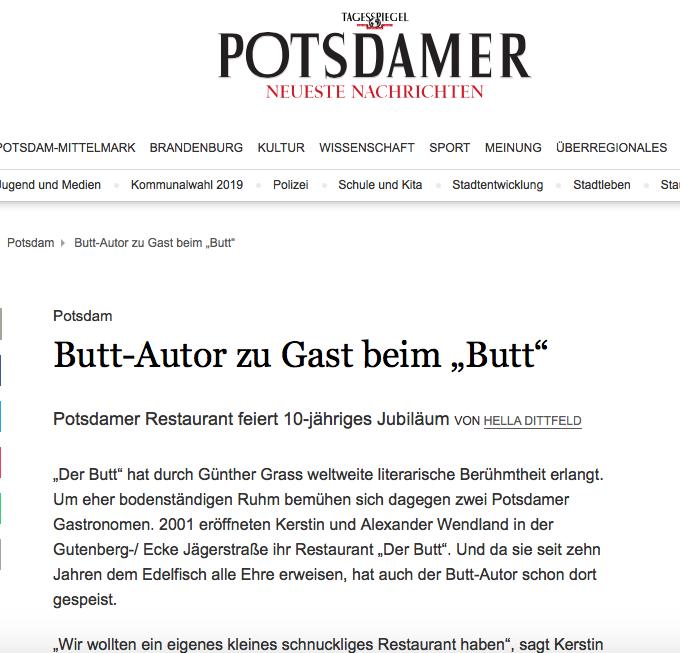 Butt Potsdam